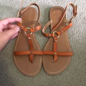 Summer sandals. WORN ONCE